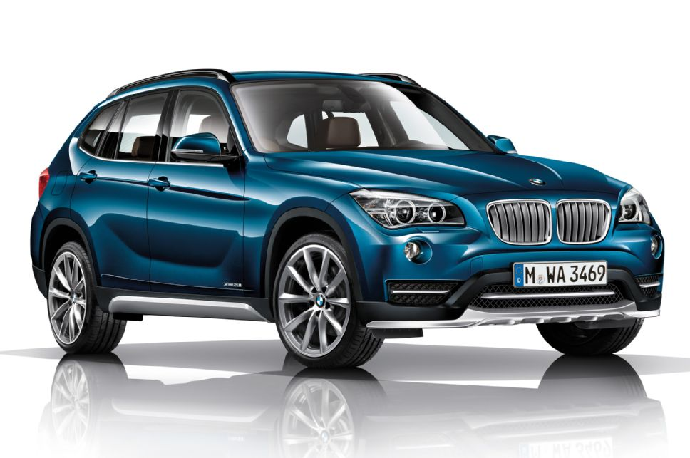 2015 Bmw X1 Front 3 4 Blue Seatco