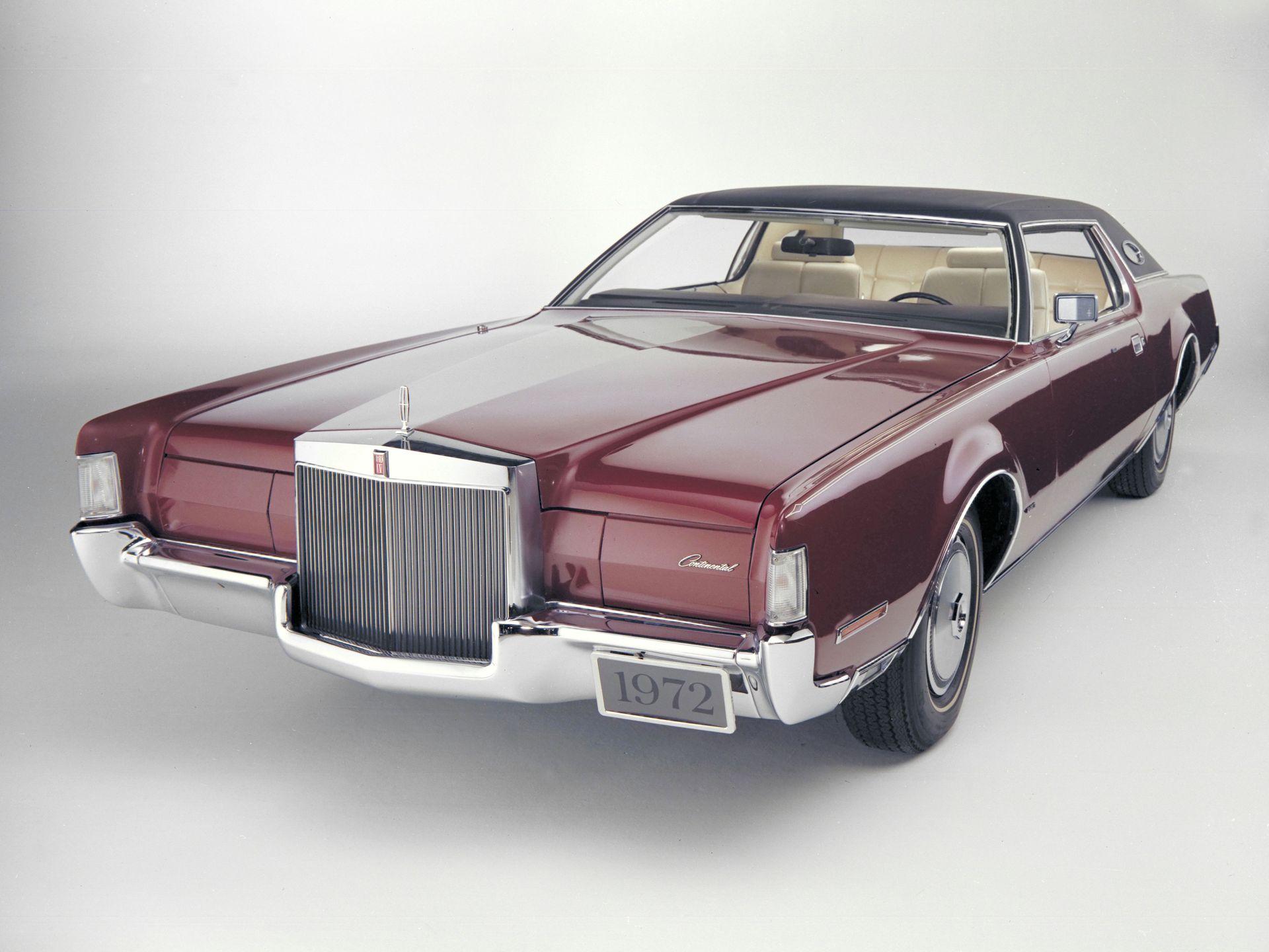 1972 Lincoln Continental - Seatco