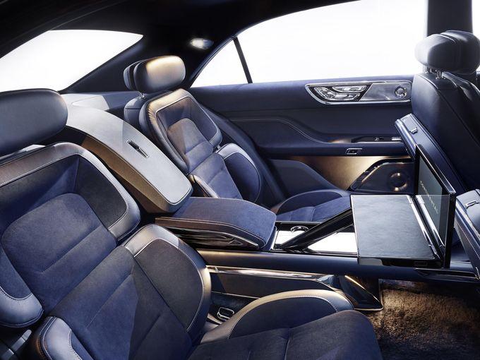2016 lincoln continental concept car interior seatco. Black Bedroom Furniture Sets. Home Design Ideas