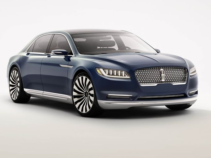 2016 Lincoln Continental concept car - Seatco