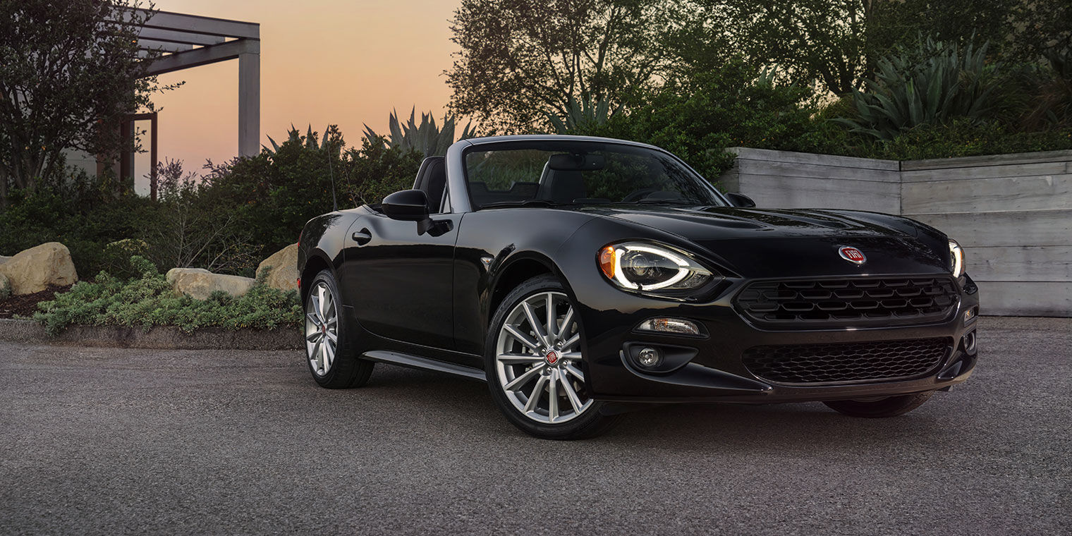 new fiat 124 spider seatco. Black Bedroom Furniture Sets. Home Design Ideas